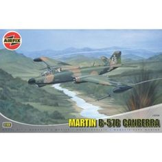 A nice Airfix kit offering some interesting possibilities straight out of this box which improves on previous kits.The was the US built version Canberra which first saw action in the Vietnam War and served many crucial roles. Airfix Models, Airfix Kits, Vietnam War, Fighter Jets, Aircraft, Aviation, Plane, Airplanes, Hunting
