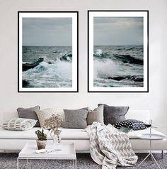 Industrial Wall Art, Coastal Industrial, Wall Art Sets, Large Wall Art, Wall Art Prints, Coastal Wall Art, Coastal Decor, Coastal Pictures, Ocean Photography