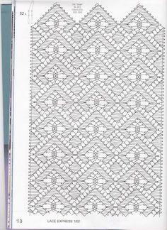 Bobbin Lace Patterns, Bead Loom Patterns, Crochet Patterns, Hairpin Lace Crochet, Crochet Shawl, Crochet Edgings, Crochet Motif, Bobbin Lacemaking, Lace Art