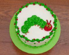 The very hungry caterpillar smash cake