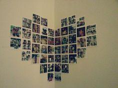 My insta print on wall. Love it.