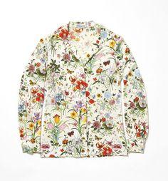 GUCCI : Vintage Floral Pattern Shirt