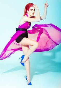 Fashion Editorial Neon Fluor Fashion
