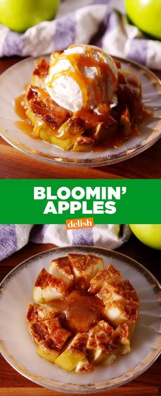 Apple Pie Is Out, Bloomin' Apples Are In