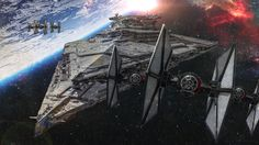 The Finalizer Star Destroyer in THE FORCE AWAKENS Uses the Same Power as Lightsabers — GeekTyrant