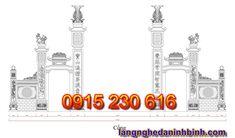 Cổng đá đẹp ở Ninh Bình - Mẫu cổng đá xanh - Cổng đá đẹp giá rẻ
