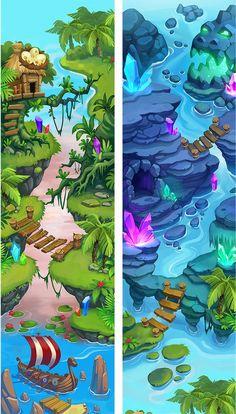 Lil Quest Maps on Behance: