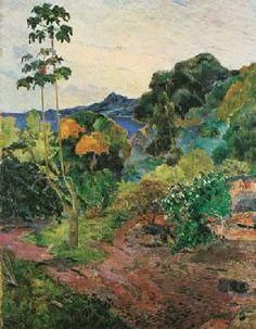 Paul Gauguin - Paysage de la Martinique                              …
