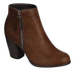 RENEEZE BABA-02 STACKED HEEL ZIPPER ANKLE BOOTIES - BROWN, Size 7 Reneeze http://www.amazon.com/dp/B00JSAXW0S/ref=cm_sw_r_pi_dp_jpFBvb0NP5X1B