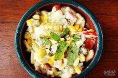 Salada de champignon com picles - Gulab