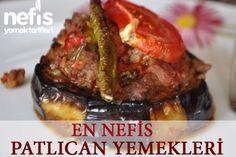 En Beğenilen Patlıcan Yemekleri - Nefis Yemek Tarifleri Turkish Recipes, Italian Recipes, Turkish Kitchen, Fish And Meat, Recipe Mix, Fresh Fruits And Vegetables, Middle Eastern Recipes, Arabic Food, Iftar