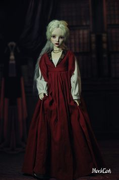 Lisette, 57cm Maskcat Girl - BJD Dolls, Accessories - Alice's Collections