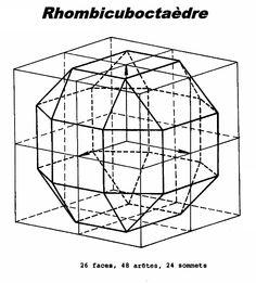 Rhombicuboctaèdre