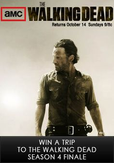Win a Trip to The Walking Dead Set
