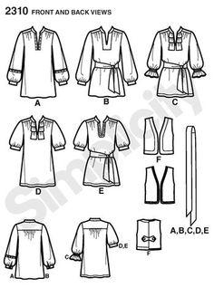Misses' & Miss Petite Tunic & Vest