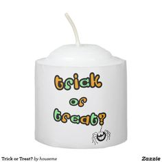 Trick or Treat? Votive Candle