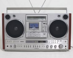 National Panasonic RX-7200 Ghettoblaster Boombox_NRP01 in Consumer Electronics,Portable Audio &…