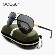 GOOSUN Luxury Brand Polarized Sunglasses Male Outdoor Fishing Eyewears UV400 Sun glasses For Men Driving Mirror 2017 with box mens fashion casual *** Details on product can be viewed on AliExpress website by clicking the image