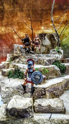 Minis, Greek Mythological Creatures, Sword And Sorcery, Gi Joe, Diorama, Mythology, Marvel Comics, Action Figures, Hacks