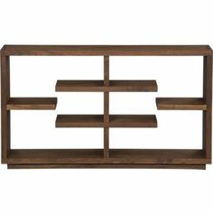 "Elevate Walnut 32"" Bookcase in Bookcases, Towers 
