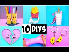 (3) MAKING 10 AMAZING DIY BFF Gift Ideas, School Supplies, Room Decor & Organization COMPILATION! - YouTube