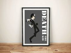 Death The kid Soul Eater Print by GreyFoxDesign on Etsy