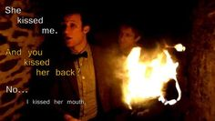 """Eleventh Doctor: """"I Kissed Her Mouth."""""""