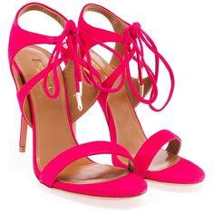 Aquazzura Colette Sandals (957.295 COP) ❤ liked on Polyvore featuring shoes, sandals, aquazzura shoes and aquazzura