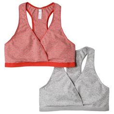 Gilligan & O'Malley® Women's 2-Pack Nursing Sleep Bra - Assorted Colors/Patterns