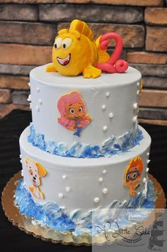 bubble+guppies+cake | ... 21, 2013 at 600 × 903 in Bubble Guppies Cake . ← Previous Next