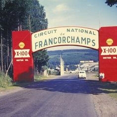 1960. Wellcome to Spa.