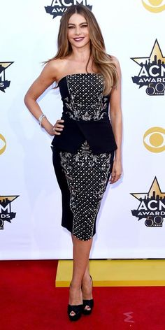 Best Looks from the 2015 Academy of Country Music Awards - Sofia Vergara from #InStyle