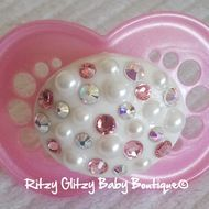 Cotton Candy Bling Pacifier