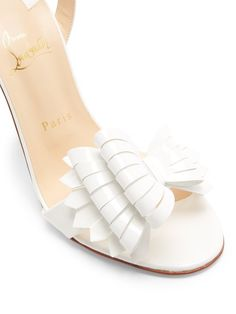 Christian Louboutin Miss Valois 85 patent-leather sandals