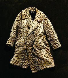 This leopardskin coat is thought to have belonged to Marilyn Monroe and have been taken from her home after she died by Inez Melson. (MM Personal - From the Private Archive of Marilyn Monroe)