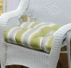 Large Outdoor Chair Cushion 22x22