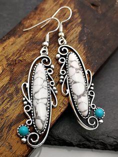 Details about  /Vintage Drop Earrings Onyx Moonstone Opal Lapis Lazuli Sterling Silver Argent