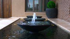 Multiple shallow bowl feature package Shallow, Water Features, Pond, Fountain, Packaging, Outdoor Decor, Products, Water Sources, Water Pond