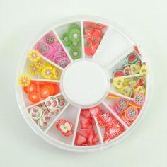 $0.80    Trendy Elegant Clay Polymer Fruit Designed Slice Nail Art Decoration