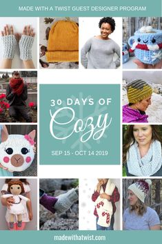 6 steps to smiles at Chrsitmas: 1) Grab the 30 Days of Cozy Bundle from MadewithaTwist NOW  (Use my affiliate link: bit.ly/30DaysCozy2019) 2) Stash dive to see what you can make TODAY 3) Go Yarn shopping for additional options TOMORROW 4) Crochet Crochet Crochet all the way until Christmas! 6) Give your loved ones an amazing array of 30+ different and unique items that YOU have made and see them smile!  #ad #crochetgifts #diygiftguide