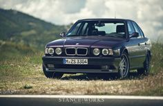 StanceWorks joins BMW for a week long trip through Italy to enjoy and drive the best cars BMW has to offer, both old and new. Car Paint Colors, Bmw E38, Bmw Series, Bmw Classic, Back Road, Car Painting, Looking Back, Touring, Cool Cars