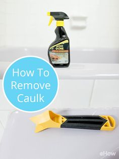 When you start to see small bits of caulk peeling away from the seam where the wall meets your bathtub, or—worse still—black spots indicating mold or mildew buildup, it's time to remove the old caulk and lay a new line down to ensure a water-tight seal. DIY it and save hundreds! Step-by-step instructions here: http://www.ehow.com/how_4761947_remove-caulk-bathtub.html?utm_source=pinterest.com&utm_medium=referral&utm_content=freestyle&utm_campaign=fanpage