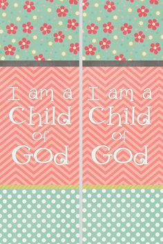 primary- I am a child of God