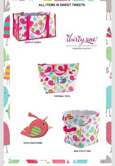 Sweet Tweets spring set. Great Easter gifts for Easter baskets that are more useful than traditional ones!