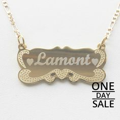 Today Only! 10% OFF this item.  Follow us on Pinterest to be the first to see our exciting Daily Deals. Today's Product: Christmas Personalized Gift Name Chain Necklace,Custom Personalized Name Necklace 18K Gold Plated with Any Name Buy now: https://www.etsy.com/listing/475167208?utm_source=Pinterest&utm_medium=Orangetwig_Marketing&utm_campaign=Christmas%20Personalized%20Gift   #etsy #etsyseller #etsyshop #etsylove #etsyfinds #etsygifts #musthave #loveit #instacool #shop #shopping…