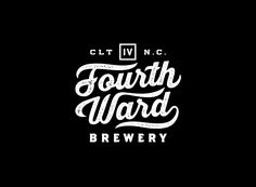 New Work: Fourth Ward Brewery — the Design Office of Matt Stevens - Direction + Design + Illustration
