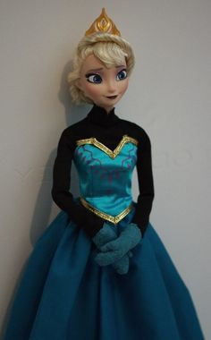Elsa OOAK doll, Disney Frozen