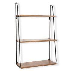 Threshold™ 3 Tier Wood Wall Shelf