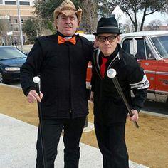 Sean Farmtruck Whitley and Jeff AZN Bonnett in Street Outlaws