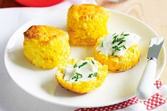 Enjoy the afternoon with moist pumpkin scones - they're perfect with a pot of tea!